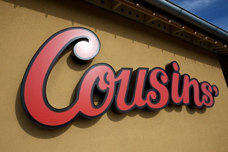 Come to Cousins' in Washington