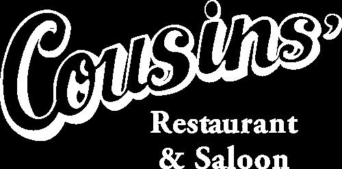 Cousins' Restaurant and Saloon logo