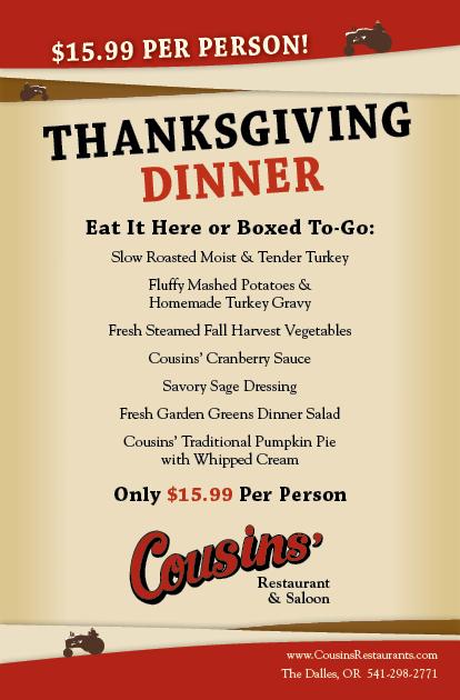 Cousins Thanksgiving